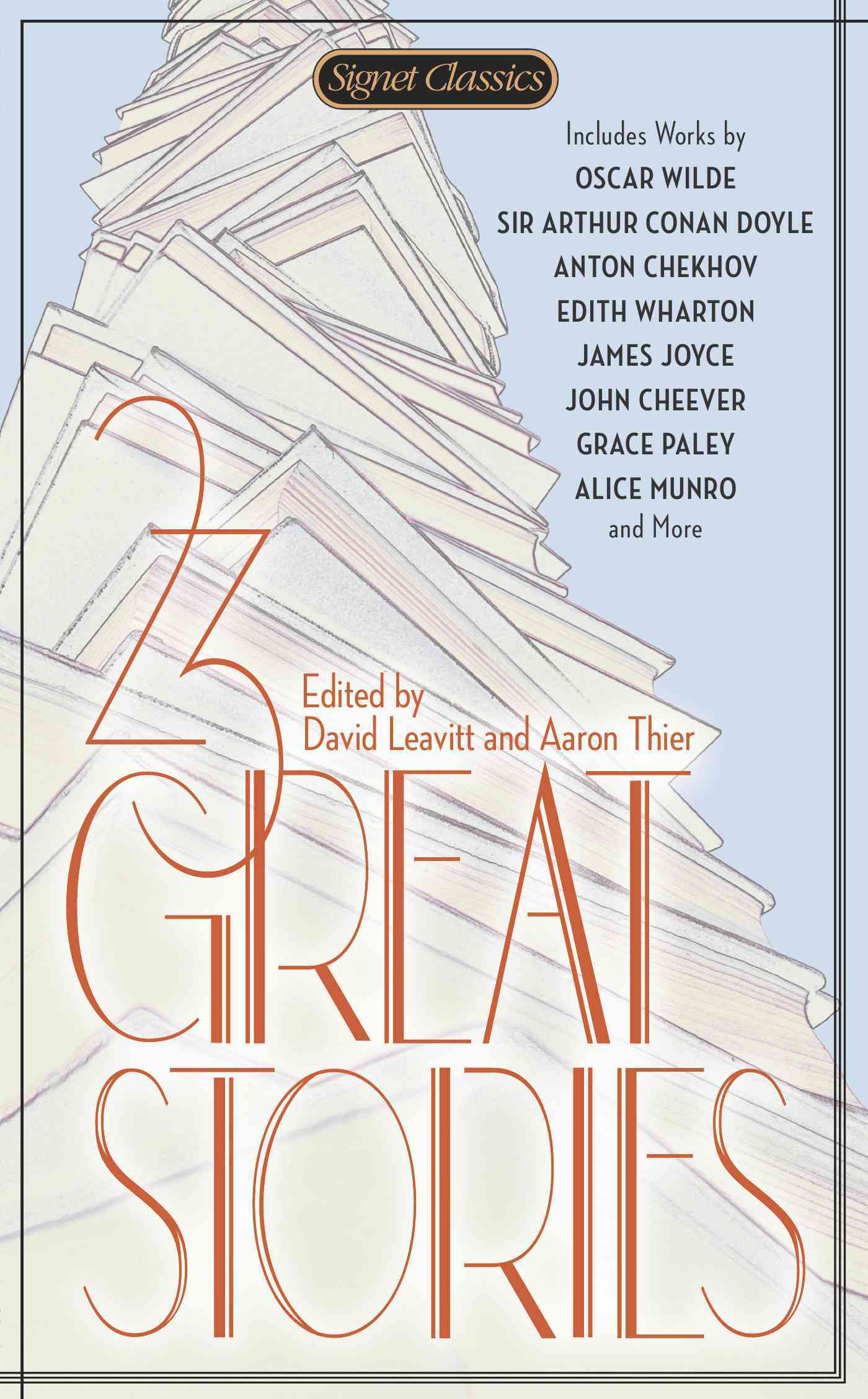 23 Great Stories By Leavitt, David (EDT)/ Thier, Aaron (EDT)